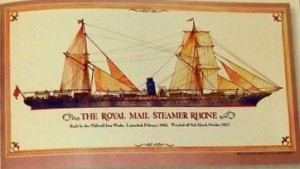 The Royal Mail Steamer Rhone