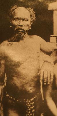 Micronesian native navigator