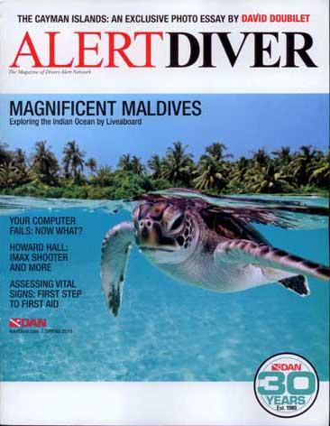 Recent DAN Alert Diver Cover