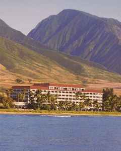 My hotel located only eight feel above sea level in Lahaina on Maui... I was on the third floor