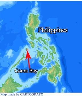 Corona Bay, The Philippines