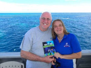 Julia Summerling and the SDI Solo Diver text book