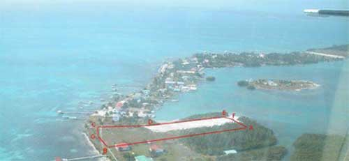 Belize Island Beachfront Acreage Available
