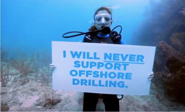 Florida Politician Make Her Case Scuba Diving