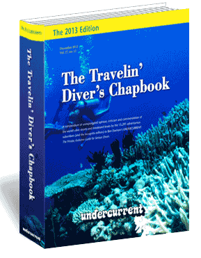 The 2013 Travelin' Diver's Chapbook