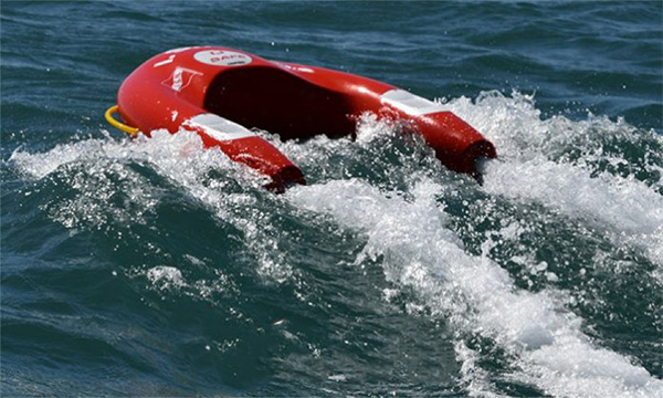 U SAFE, a self-propelled lifebuoy