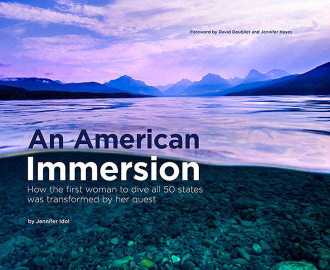 An American Immersion - Dive book by Jennifer Idol