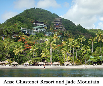 Anse Chastenet Resort and Jade Mountain