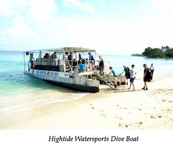 Hightide Watersports Dive Boat