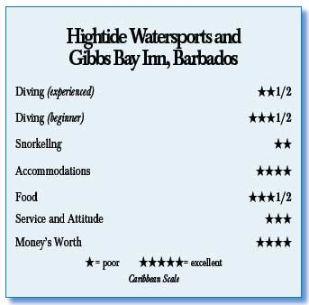 Hightide Watersports and Gibbs Bay Inn, Barbados