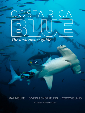 Costa Rica Blue - Dive book