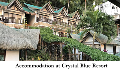 Accommodation at Crystal Blue Resort