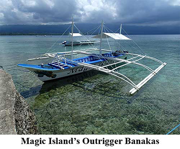 Magic Island's Outrigger Banakas