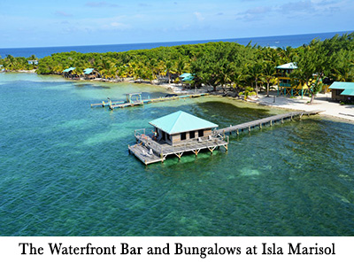 The Waterfront Bar and Bungalows at Isla Marisol