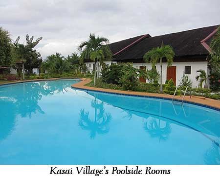 Kasai Village's Poolside Rooms