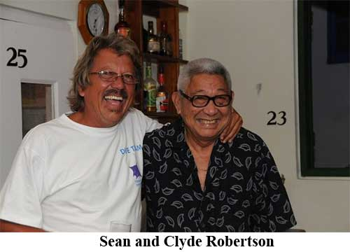 Sean and Clyde Robertson