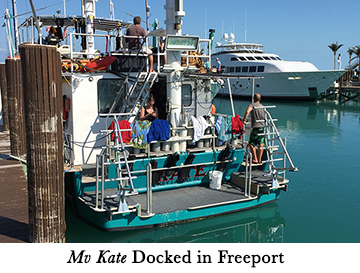 Mv Kate Docked in Freeport