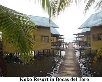 Koko Resort in Bocas del Toro
