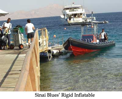 Sinai Blues' Rigid Inflatable