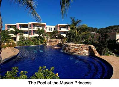 The Pool at the Mayan Princess