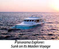 Panorama Explorer: Sunk on Its Maiden Voyage