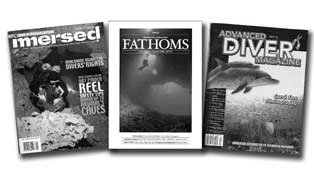 Three Magazines for Experienced Divers