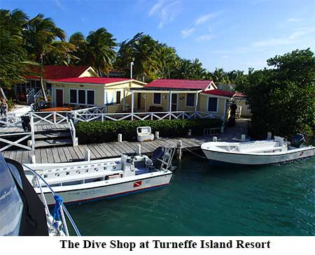The Dive Shop at Turneffe Island Resort