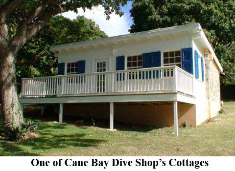 One of Cane Bay Dive Shop's Cottages