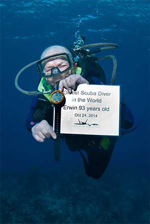 The World's Oldest Diver