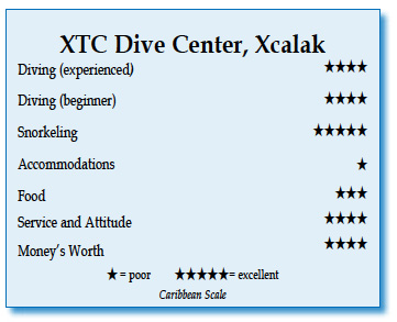Rating for XTC Dive Center