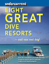 Eight Great Dive Resorts -- and one real dog